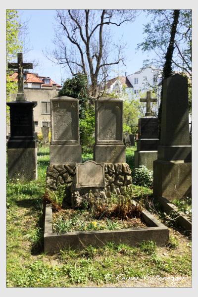 Grab der Familie Herrle auf dem Alten Südfriedhof München (Mai 2018)