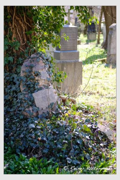 Grab der Familie Brandl auf dem Alten Südfriedhof München (März 2021)