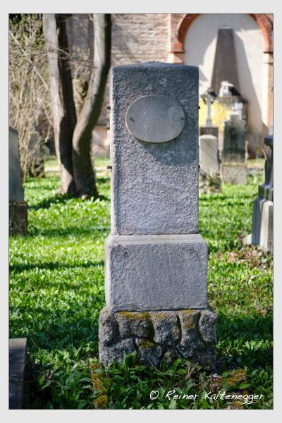 Grab der Familien Greil · Steiger auf dem Alten Südfriedhof München (März 2021)
